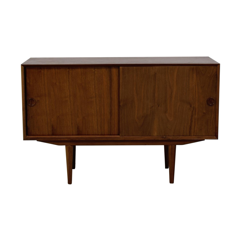 Mid Century Wood Credenza / Storage