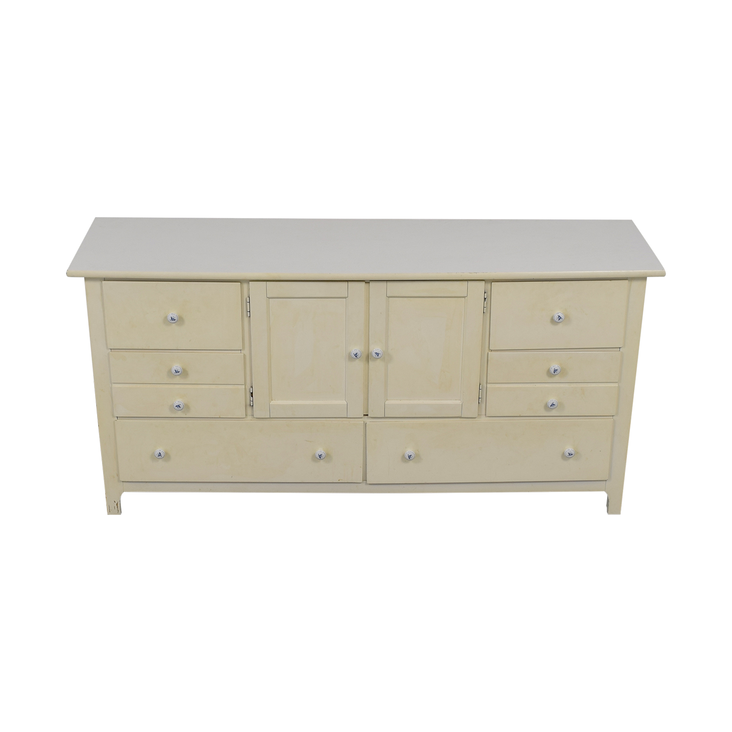 Stanley Furniture Stanley Furniture White Eight Drawer Dresser Storage