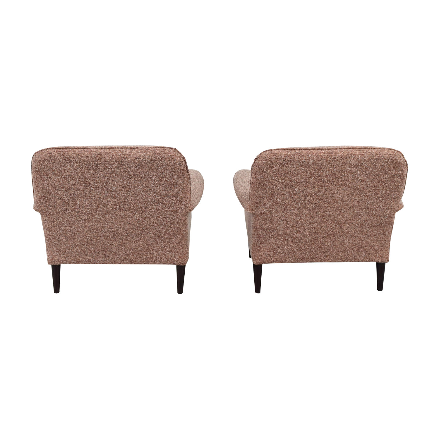 West Elm West Elm Mylo Multi-Red Accent Chairs
