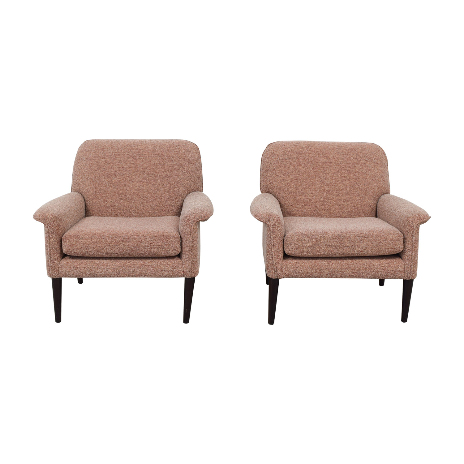 shop West Elm Mylo Multi-Red Accent Chairs West Elm Accent Chairs