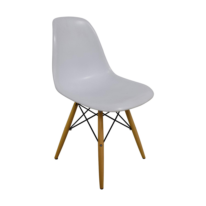 Vortex Vortex Eames White Chair Chairs