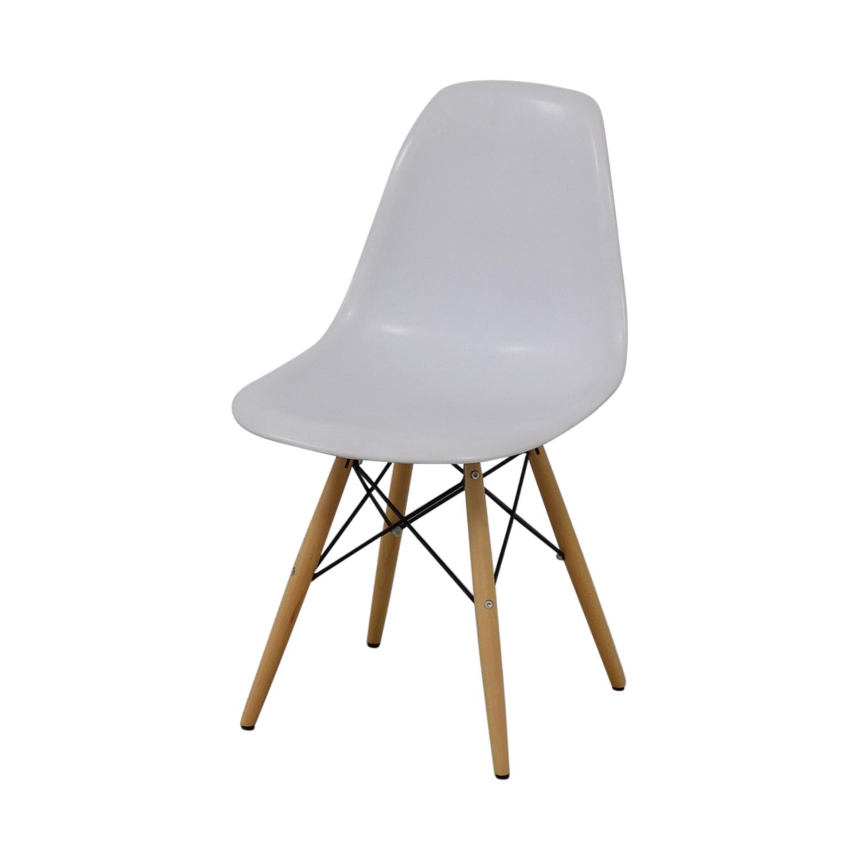 Vortex Vortex Eames White Chair for sale