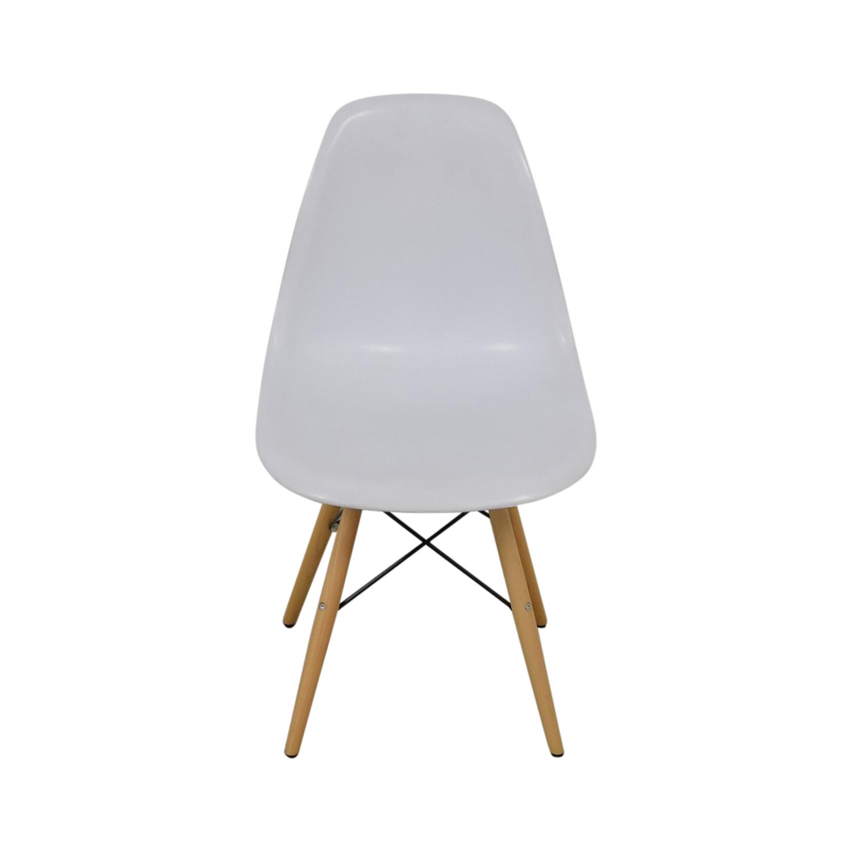Vortex Vortex Eames White Chair nyc