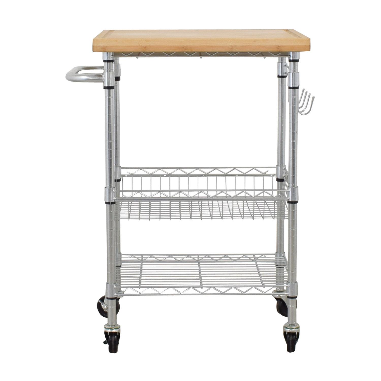 shop Metal Utility Storage Cart  Utility Tables