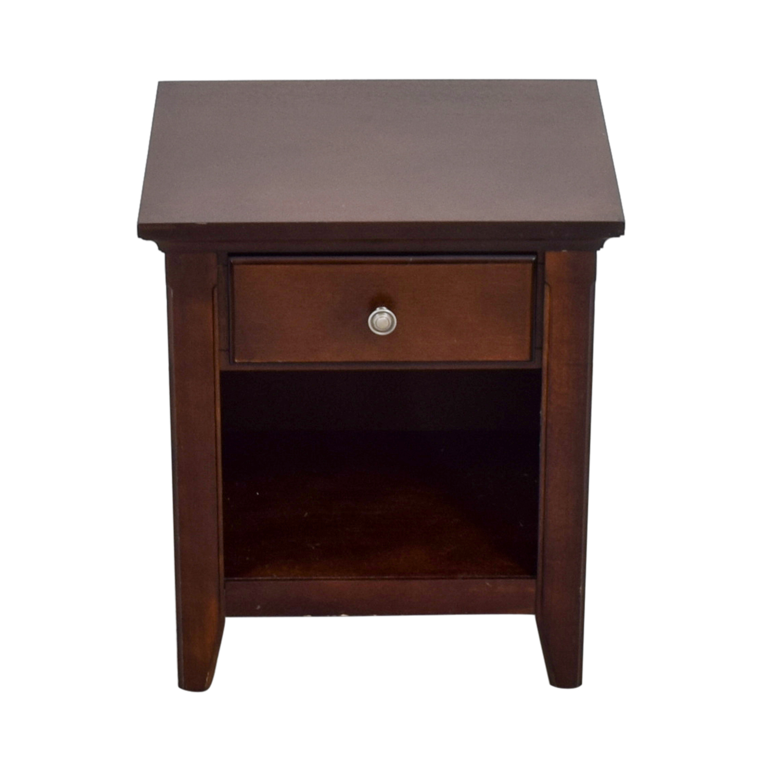 Classic Single Drawer End Table second hand