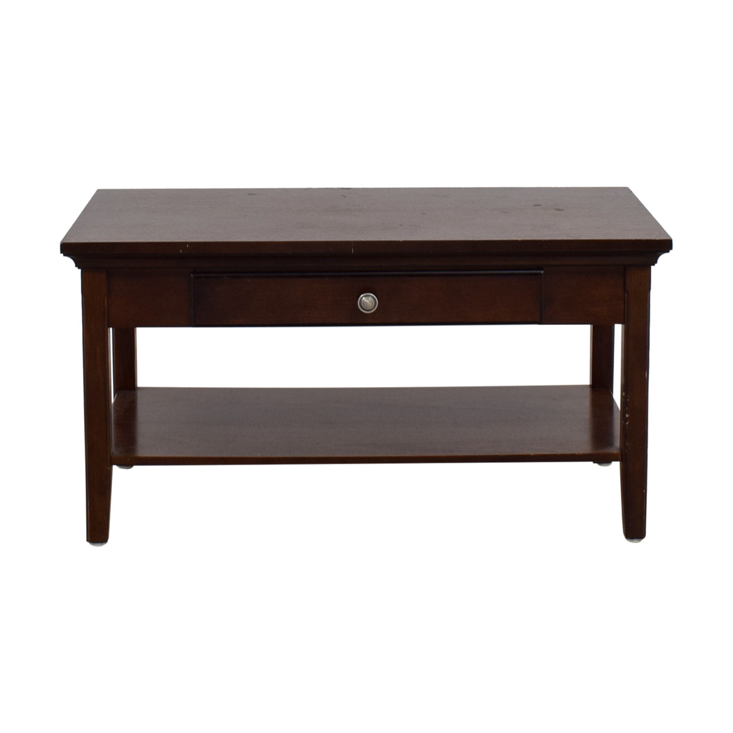Wooden Classic Coffee Table Brown