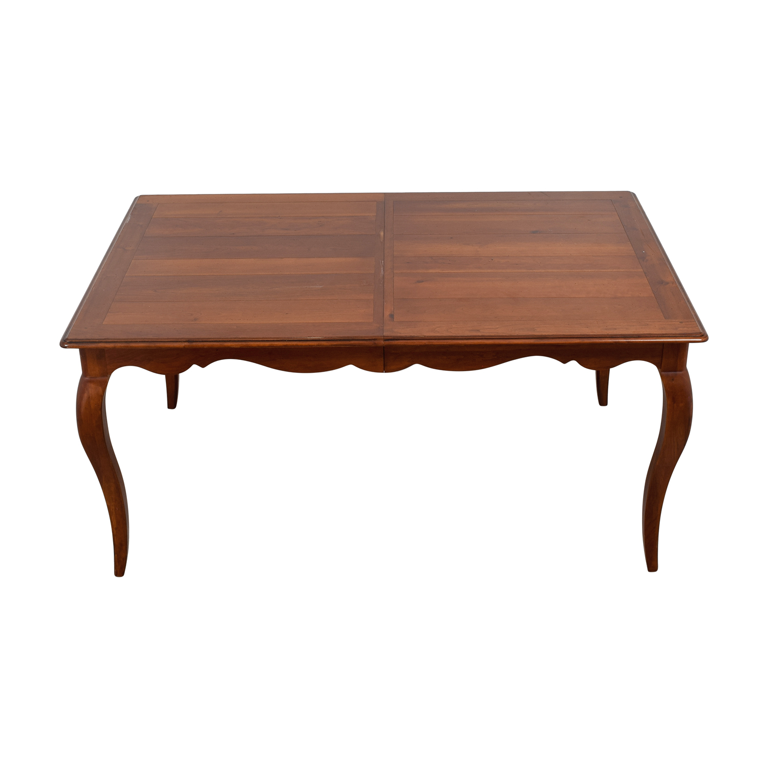 Ethan Allen Ethan Allen Juliette Wood Dovetailed Dining Table used