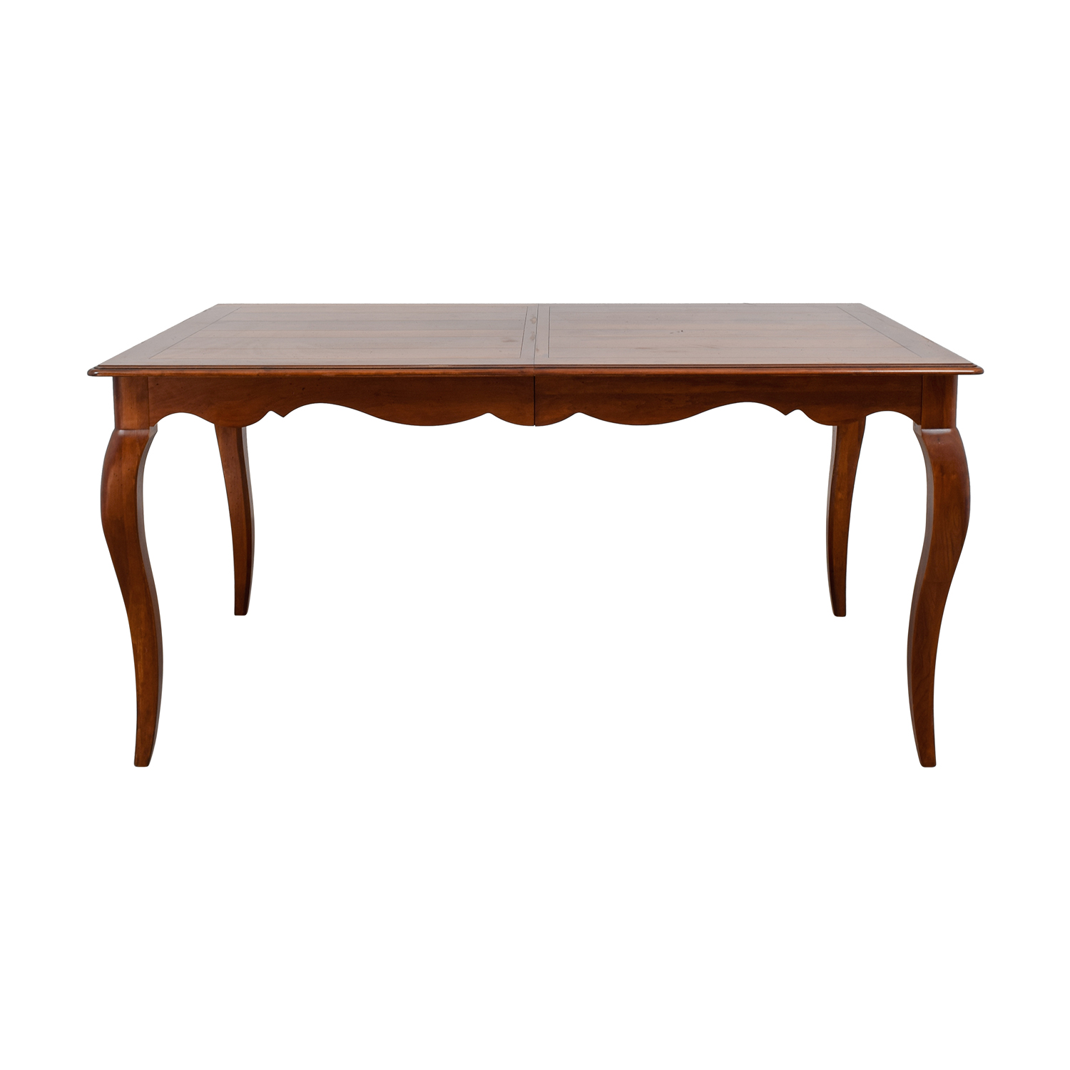 Ethan Allen Ethan Allen Juliette Wood Dovetailed Dining Table Tables