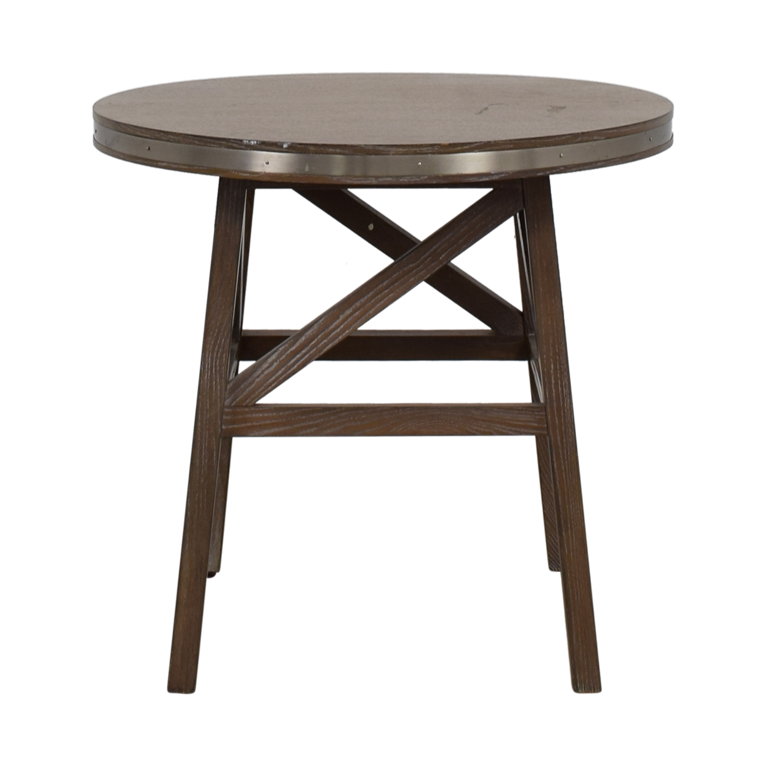 Mitchell Gold + Bob Williams Mitchell Gold + Bob Williams Round Wood Side Table Tables