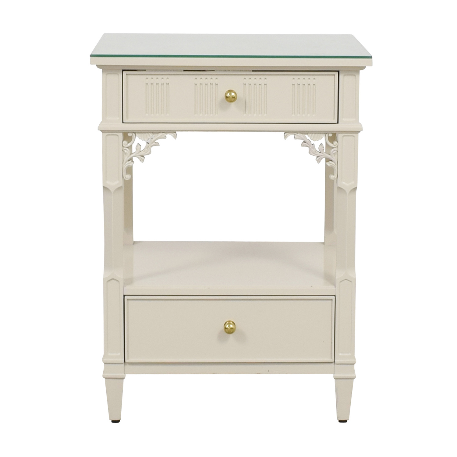 Stanley Furniture Stanley Furniture Off White Telephone Side Table Discount  ...