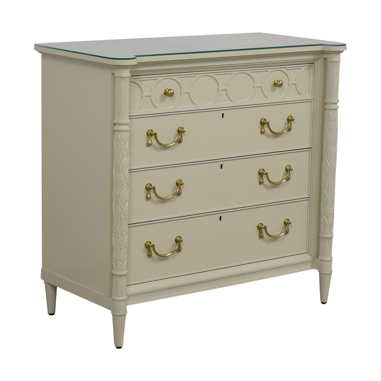 Stanley Furniture Charleston Regency King Charles Bachelor Chest / Dressers