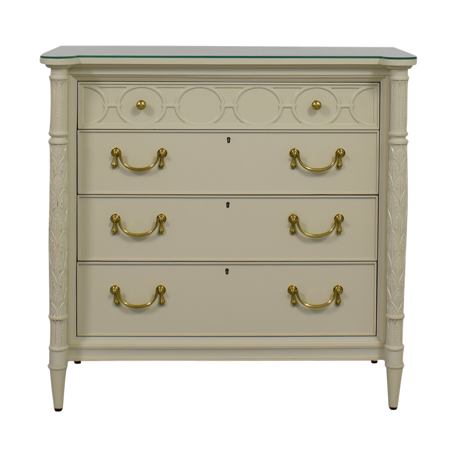 Stanley Furniture Charleston Regency King Charles Bachelor Chest / Storage