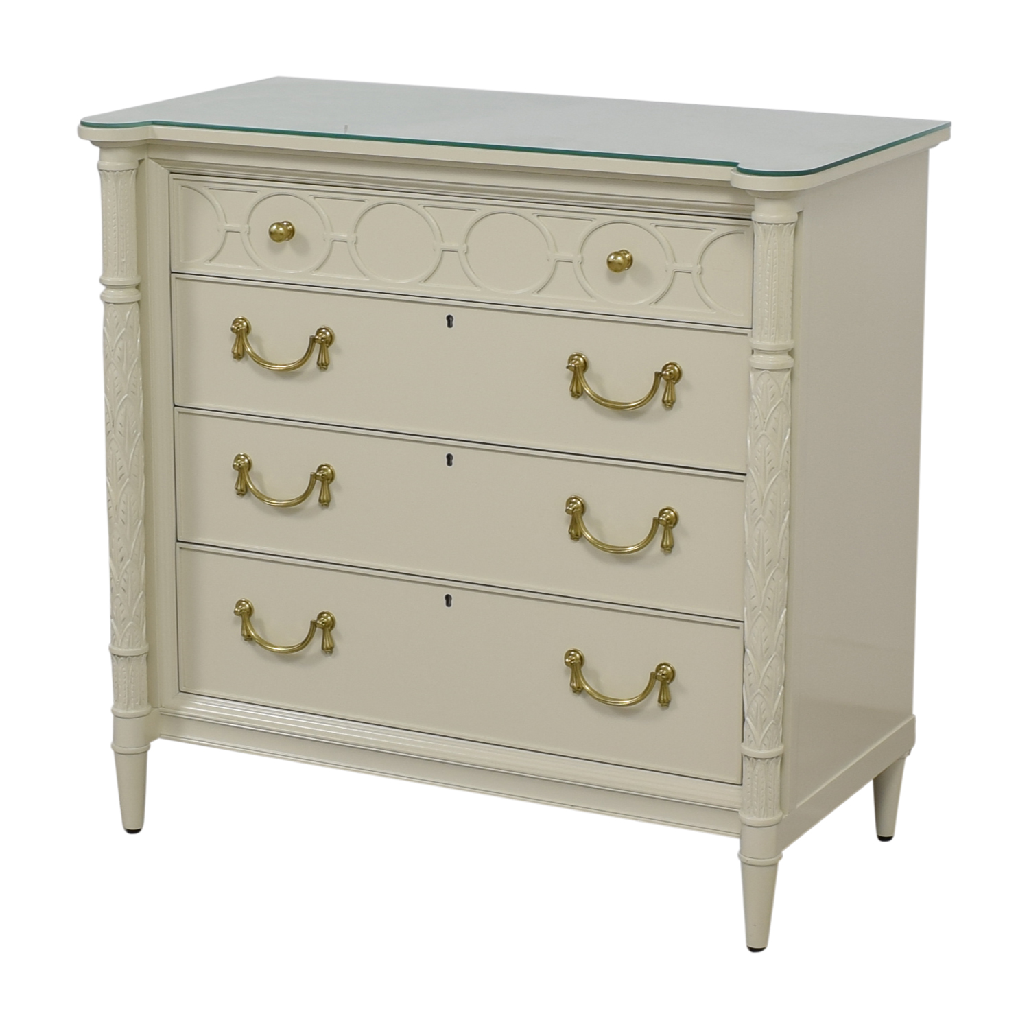 Stanley Furniture Stanley Furniture Charleston Regency King Charles Bachelor Chest nyc