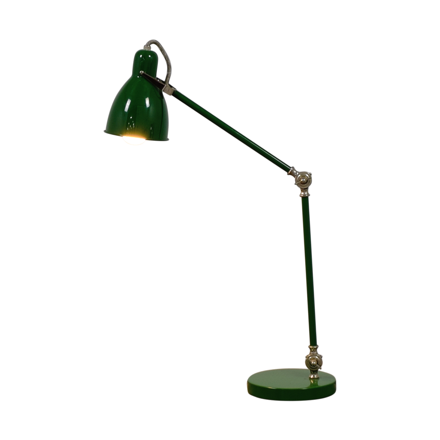 West Elm West Elm Green Lamp nyc