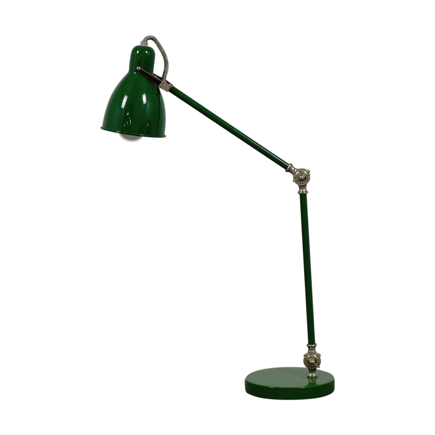 West Elm Green Lamp West Elm