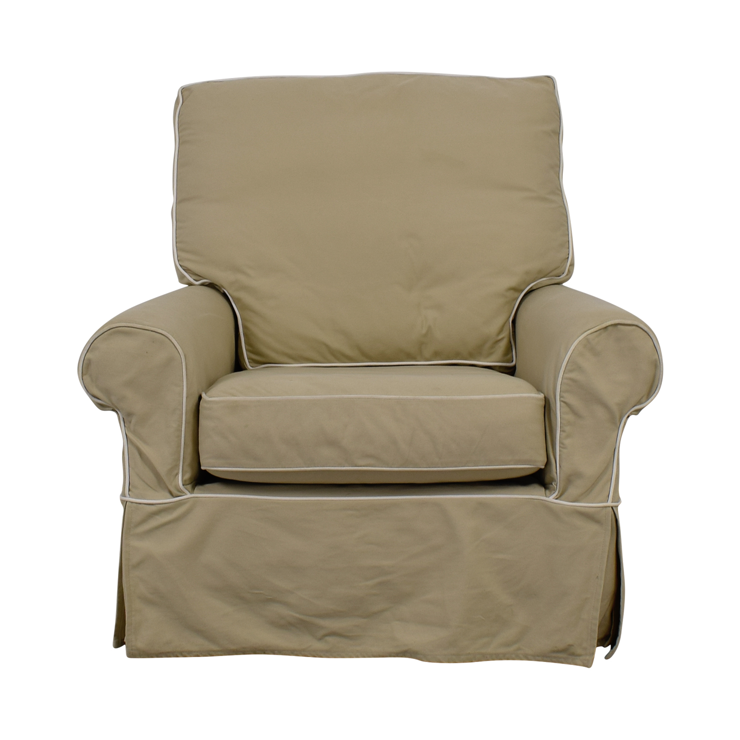 Picture of: 90 Off Williams Sonoma William Sonoma Beige Swivel Rocker Accent Chair Chairs