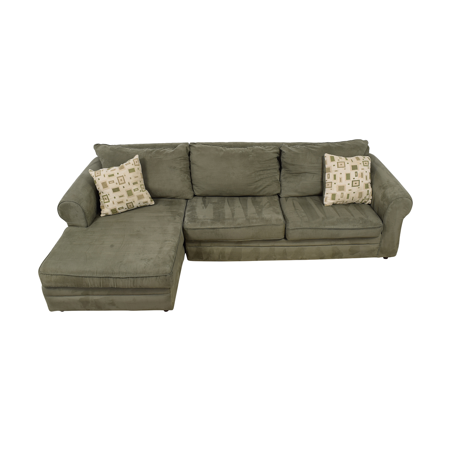 March Furniture March Furniture Green Left Arm Chaise Sectional price