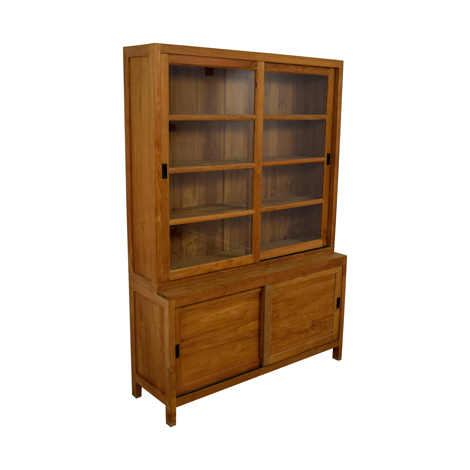 shop ABC Carpet & Home ABC Carpet & Home Wood and Glass Cabinet online