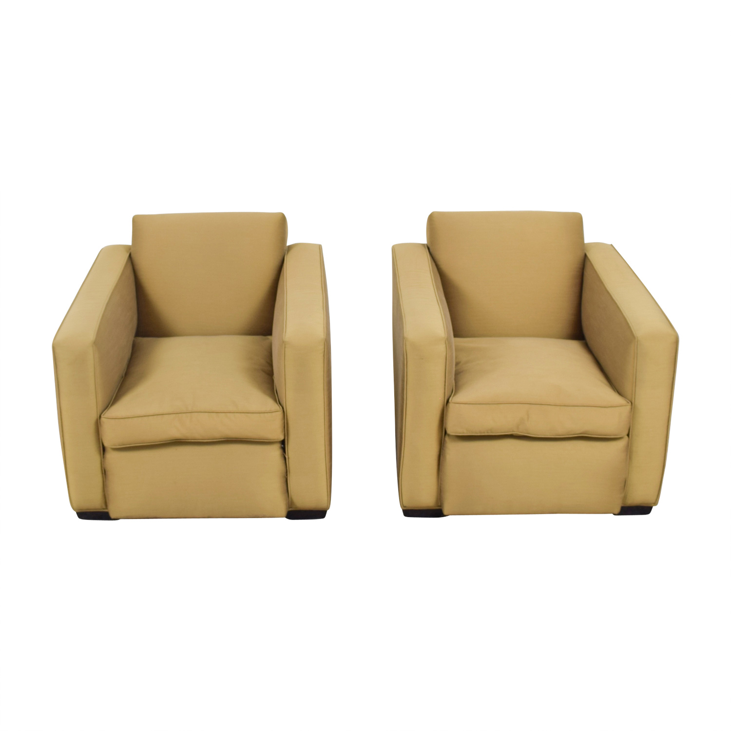 Paul J Sommerville Design Inc Gold Accent Chairs / Sofas