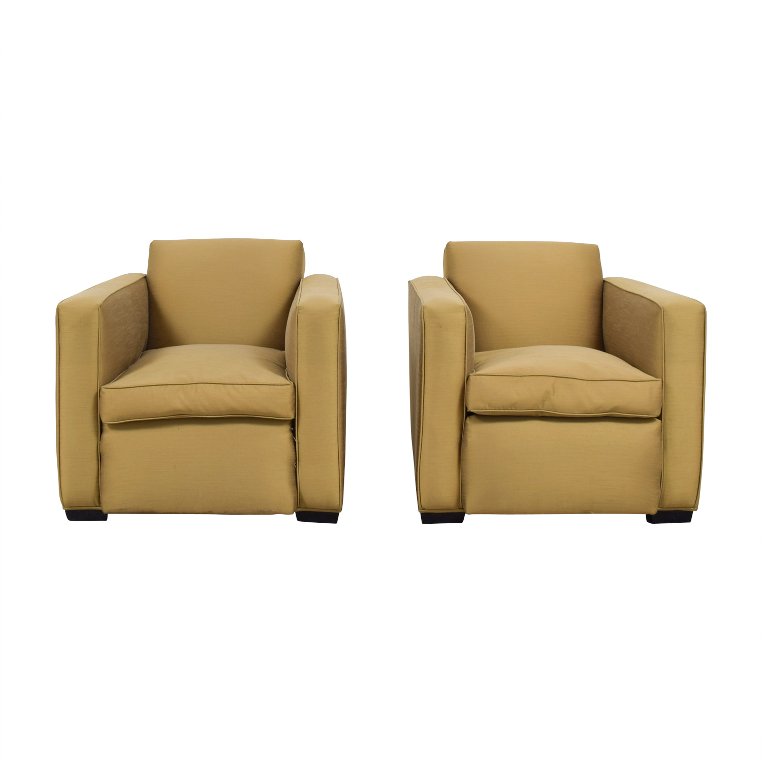 shop Paul J Sommerville Design Inc Gold Accent Chairs Paul J Sommerville Design Inc Sofas