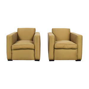Paul J Sommerville Design Inc Gold Accent Chairs dimensions