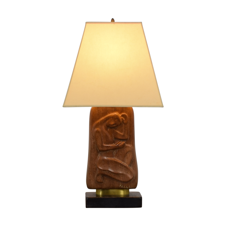 buy Facci Wooden Lamp Facci