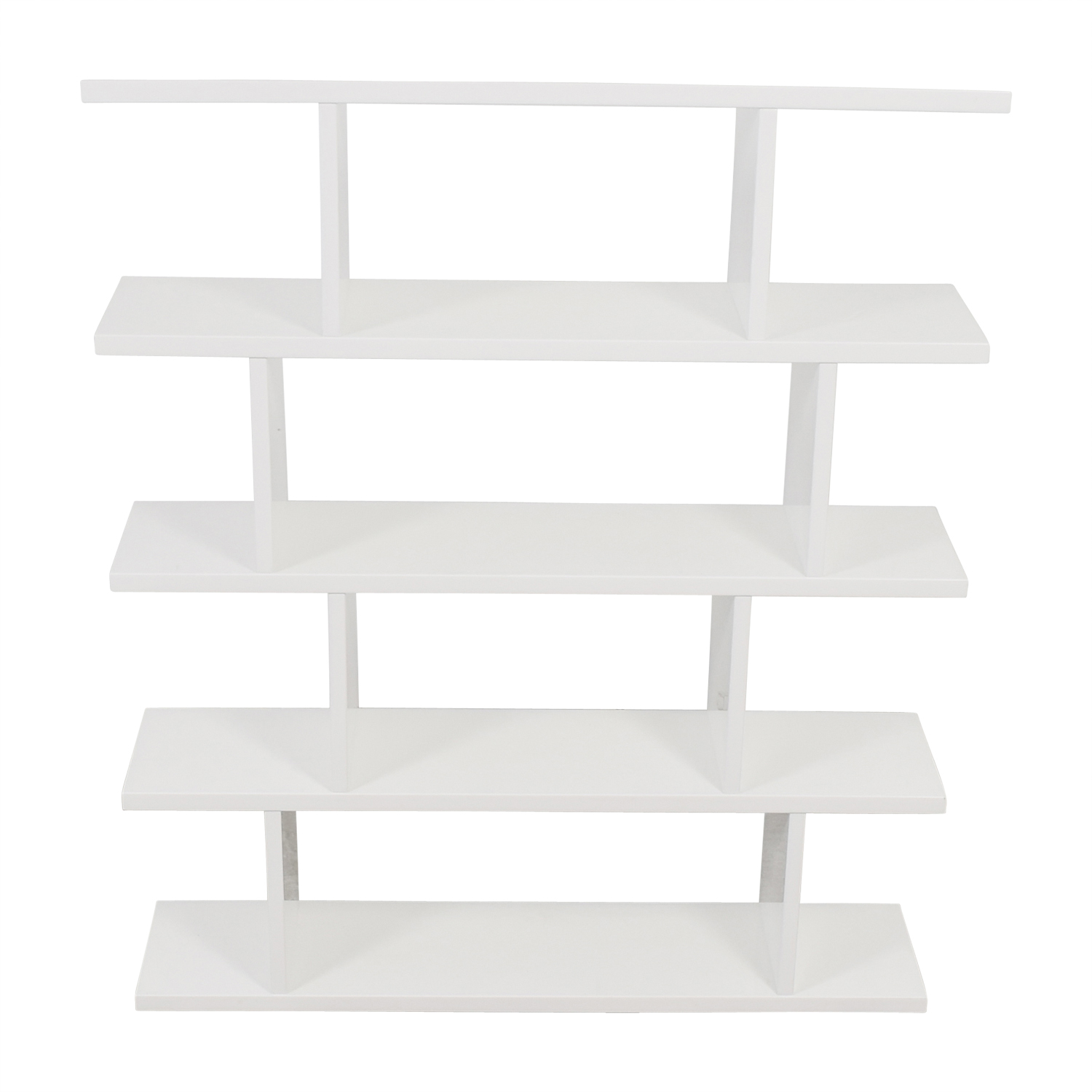 buy CB2 Modern White Bookcase CB2 Bookcases & Shelving