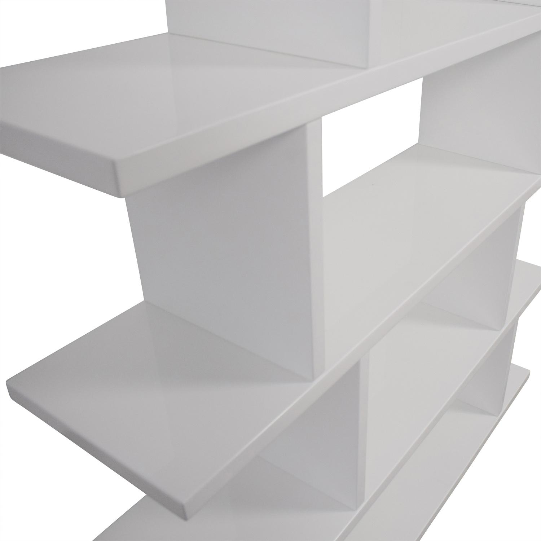CB2 CB2 Modern White Bookcase price