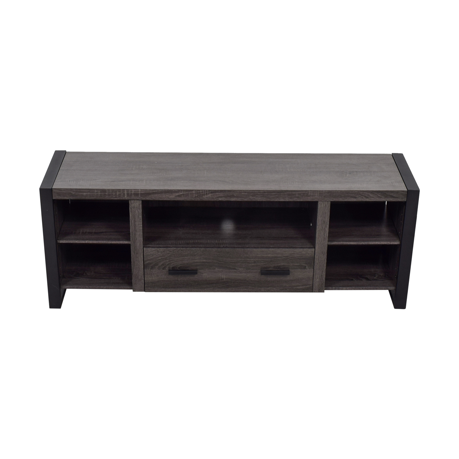 shop Grey Single Drawer Entertainment Center  Media Units