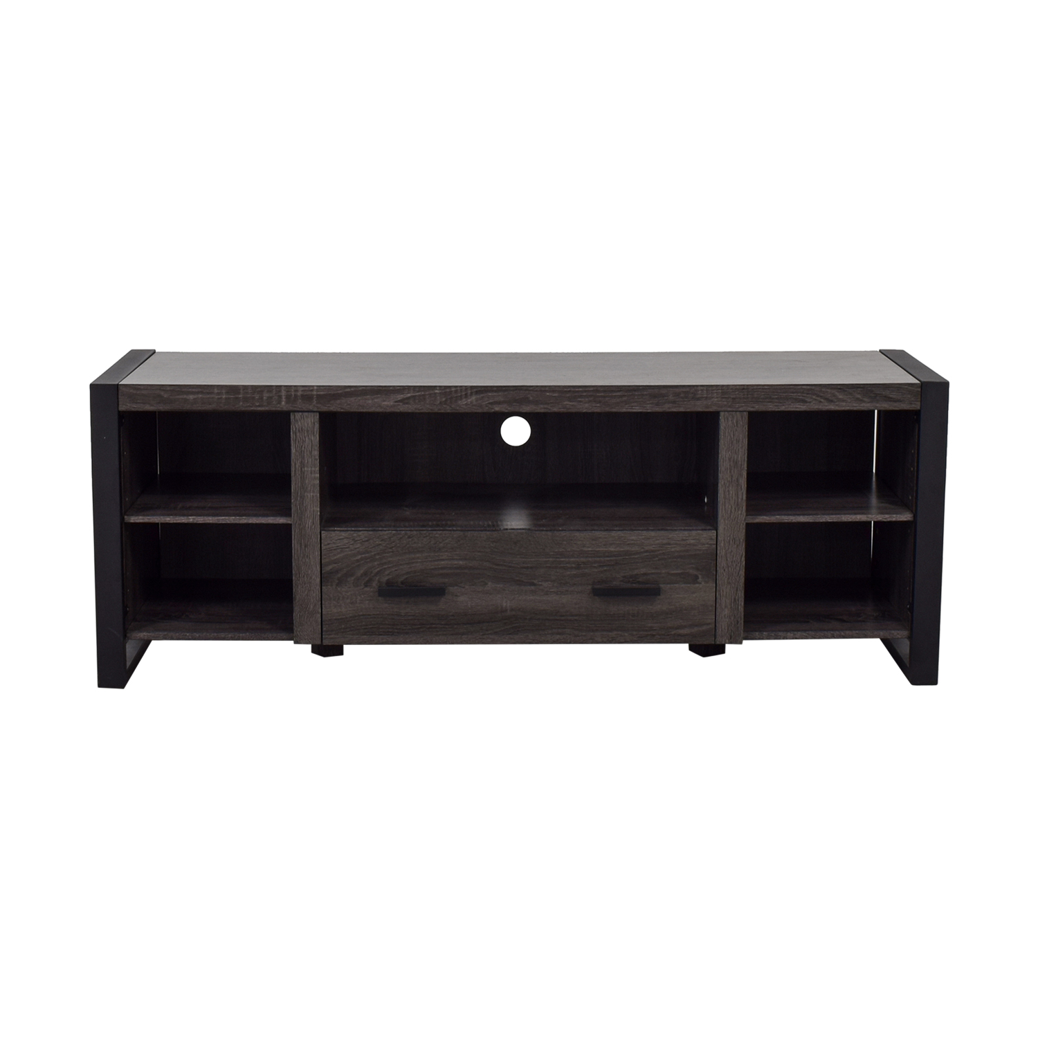 buy Grey Single Drawer Entertainment Center