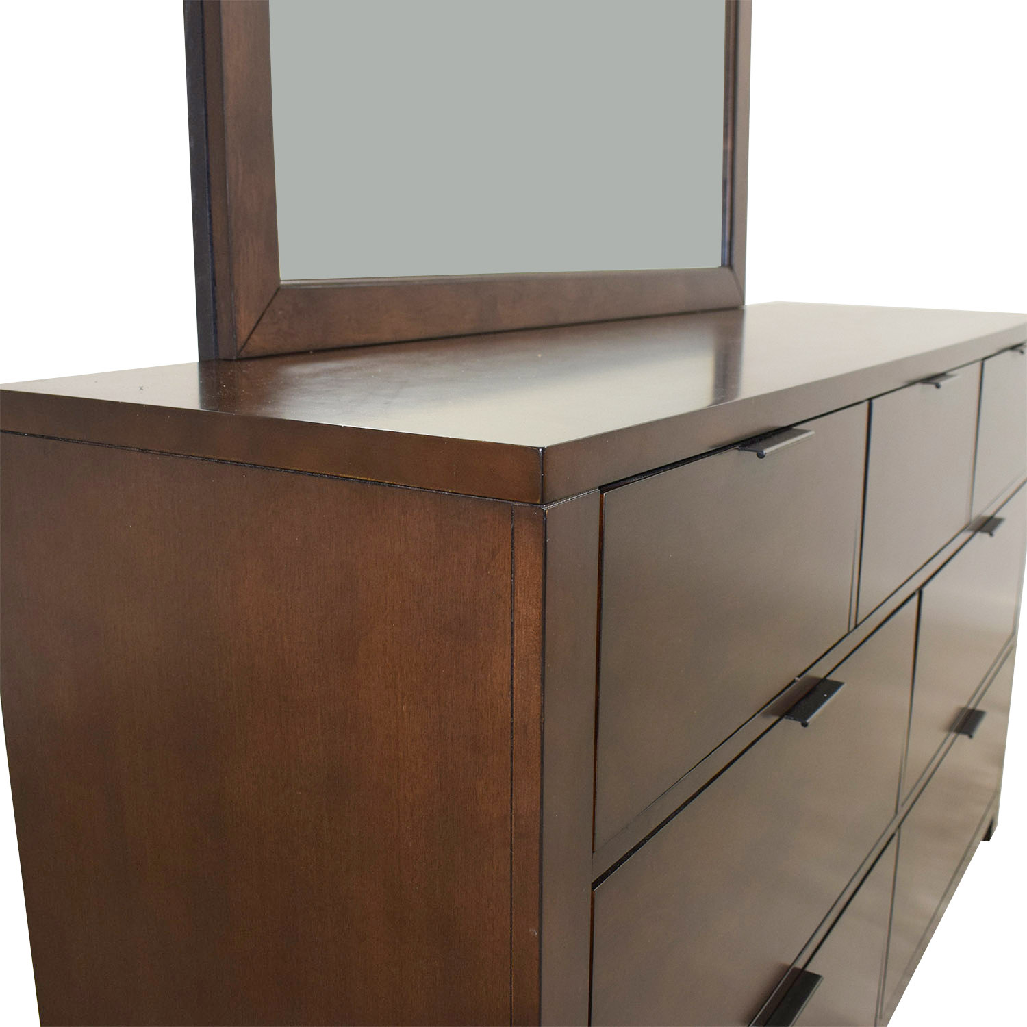 buy Home Meridian Wood Seven-Drawer Dresser with Mirror Home Meridian Storage
