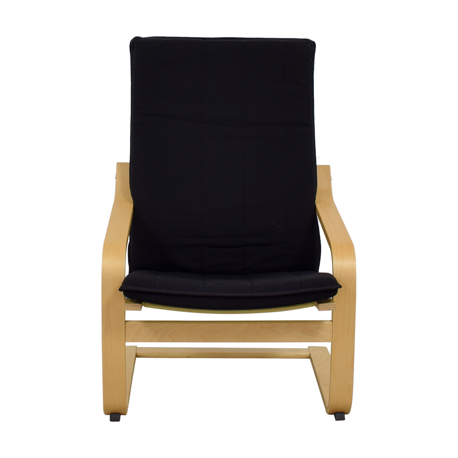 Stupendous 73 Off Ikea Ikea Black Accent Chair Chairs Ibusinesslaw Wood Chair Design Ideas Ibusinesslaworg