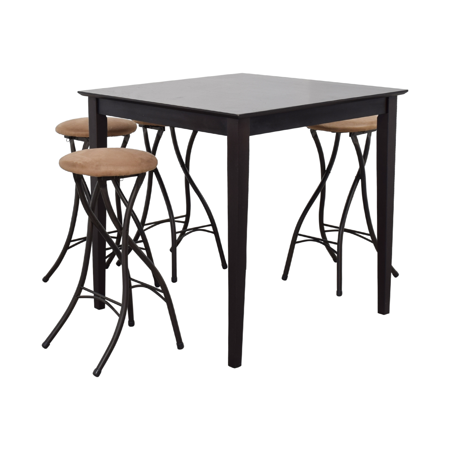 Cheyenne Industries Cheyenne Industries Counter Top Dining Set with Stools used
