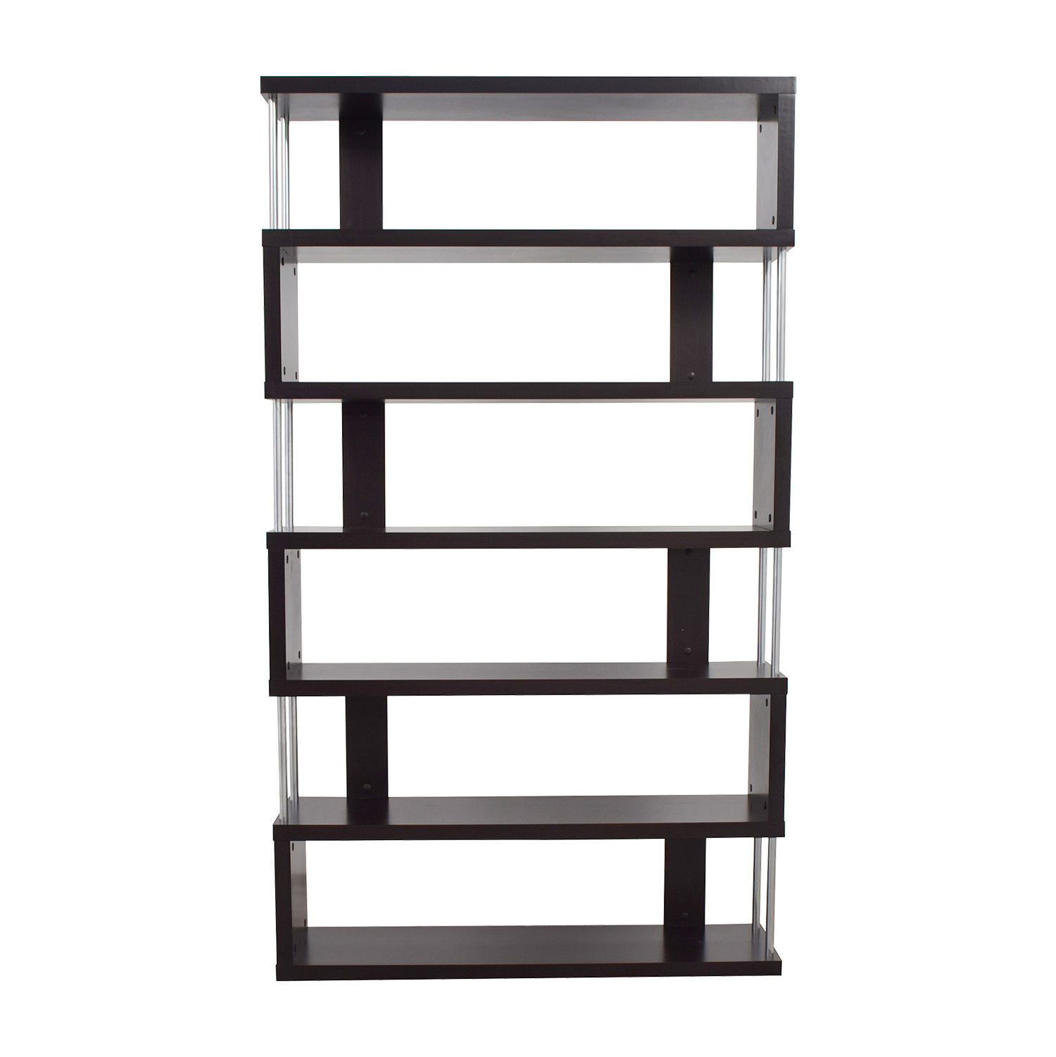 71 Off Wayfair Wayfair Geometric Bookcase Storage