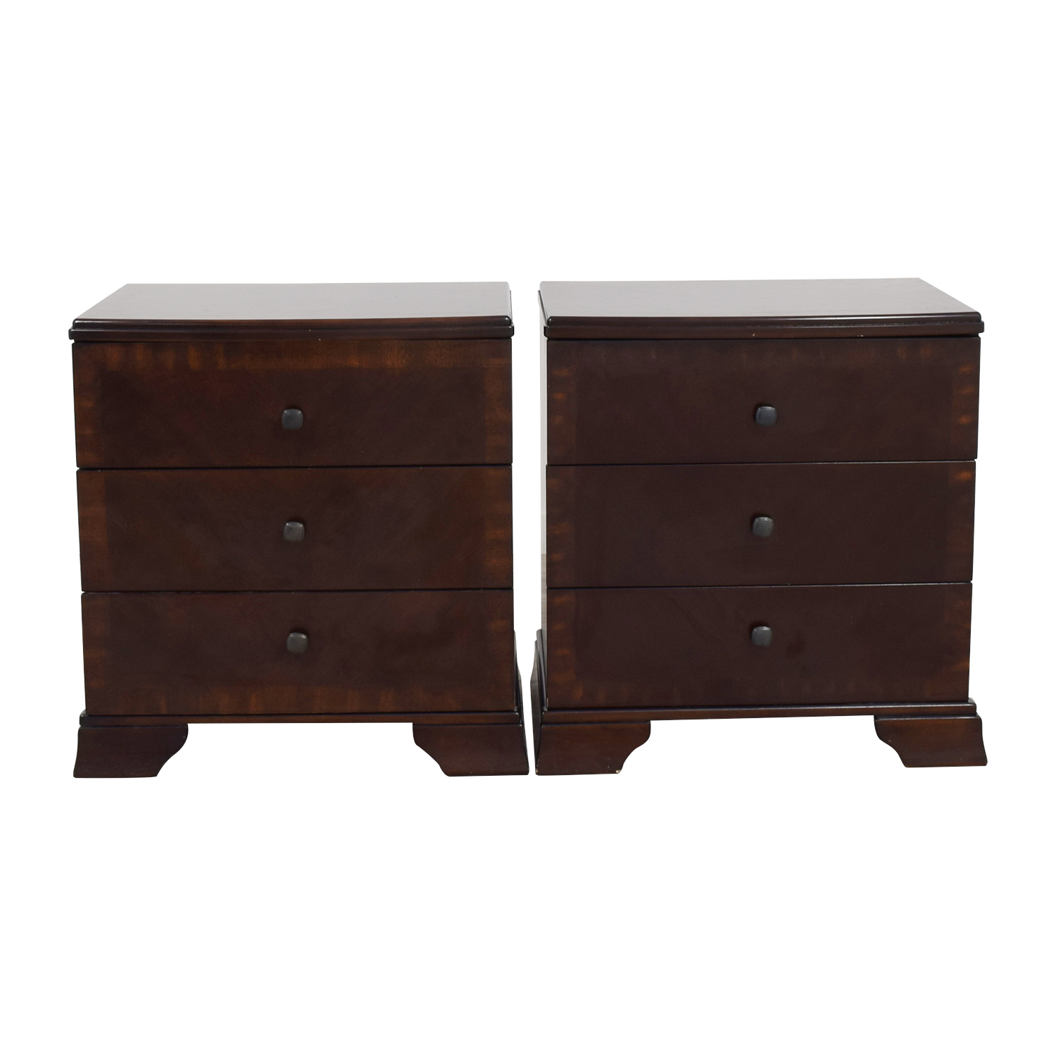 Wayfair Wayfair Cherry Stained Nightstands dimensions