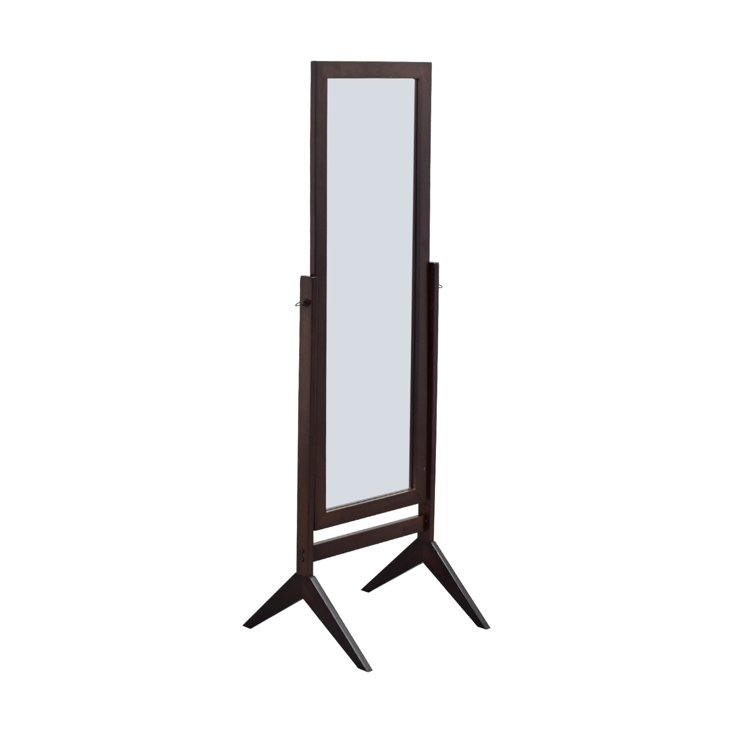 shop Bed Bath & Beyond Bed Bath & Beyond Brown Cheval Floor Mirror online