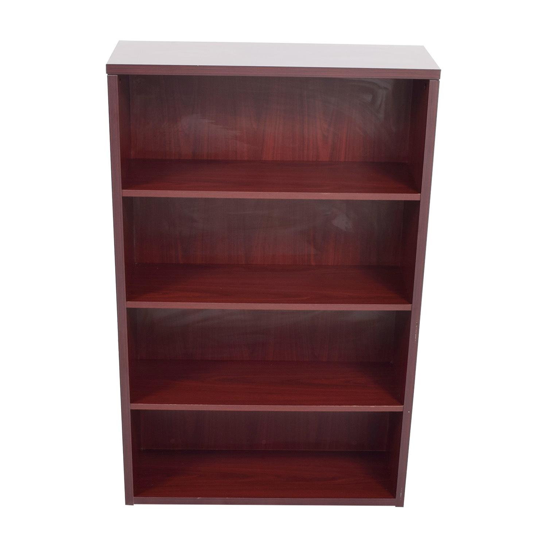 buy Wayfair Four Shelf Bookcase Wayfair Bookcases & Shelving