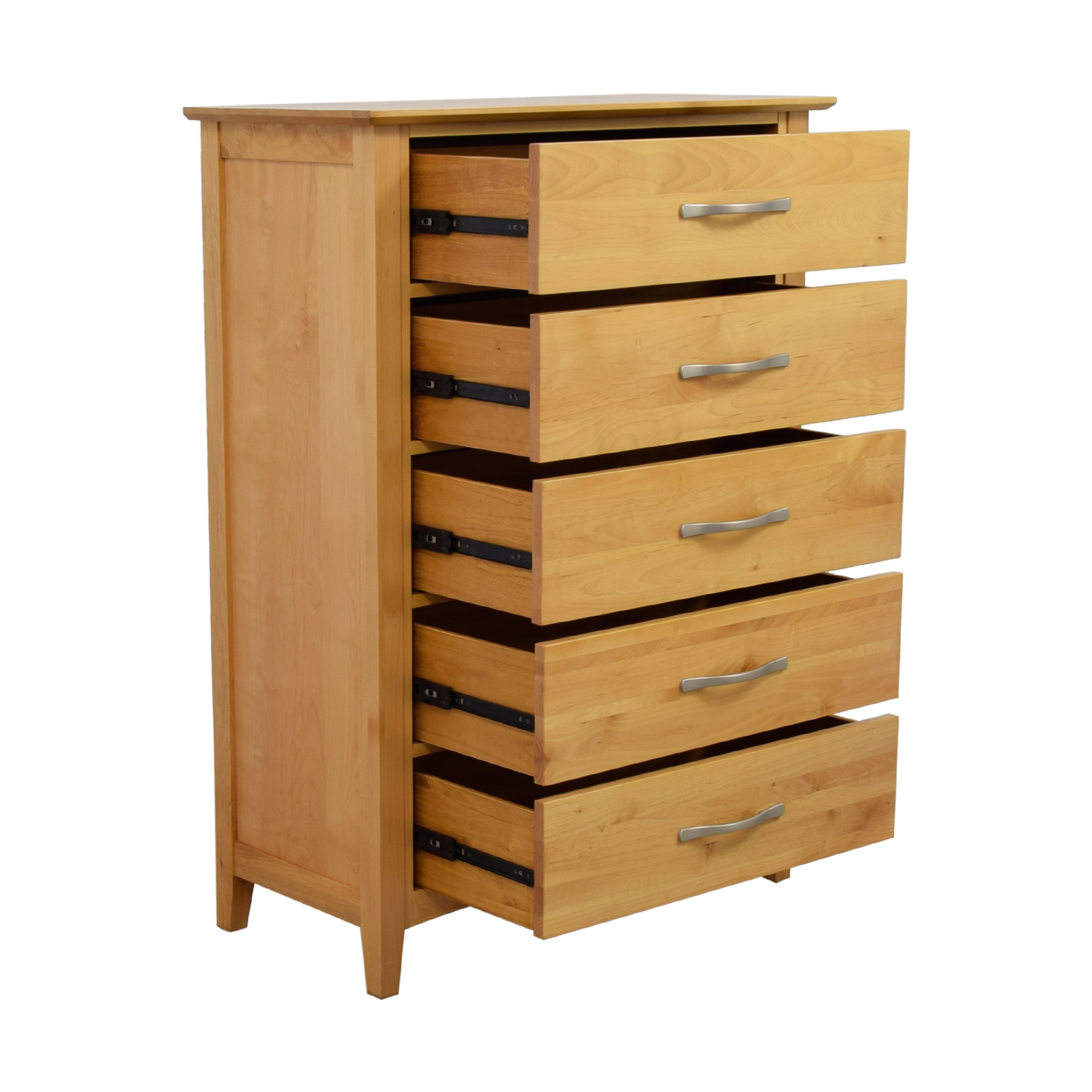 56 off raymour flanigan raymour flanigan everitt five drawer chest of drawers storage. Black Bedroom Furniture Sets. Home Design Ideas