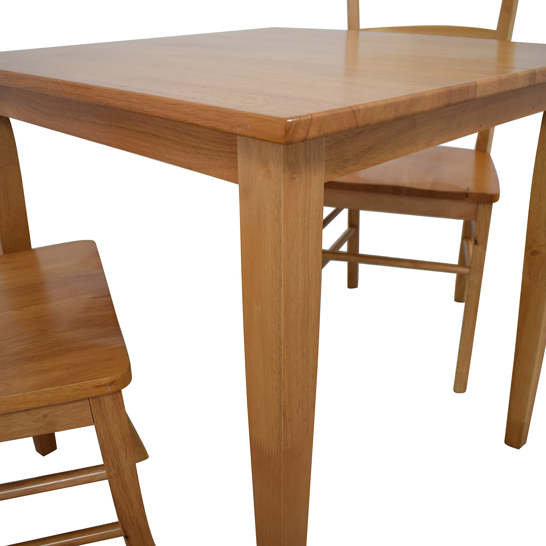 buy Winsome Groveland Light Oak Dining Set Winsome Dining Sets