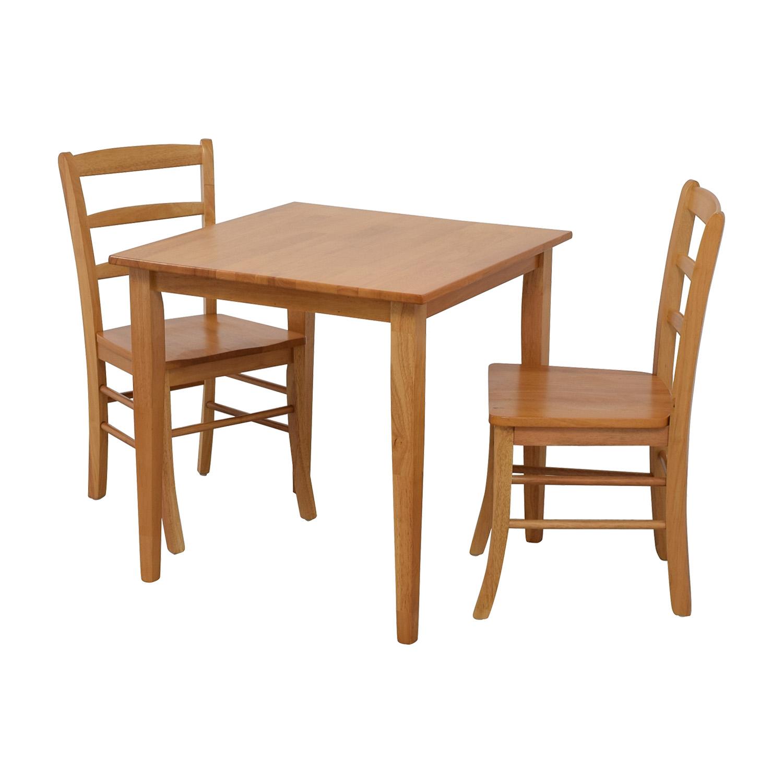 67 Off Winsome Winsome Groveland Light Oak Dining Set