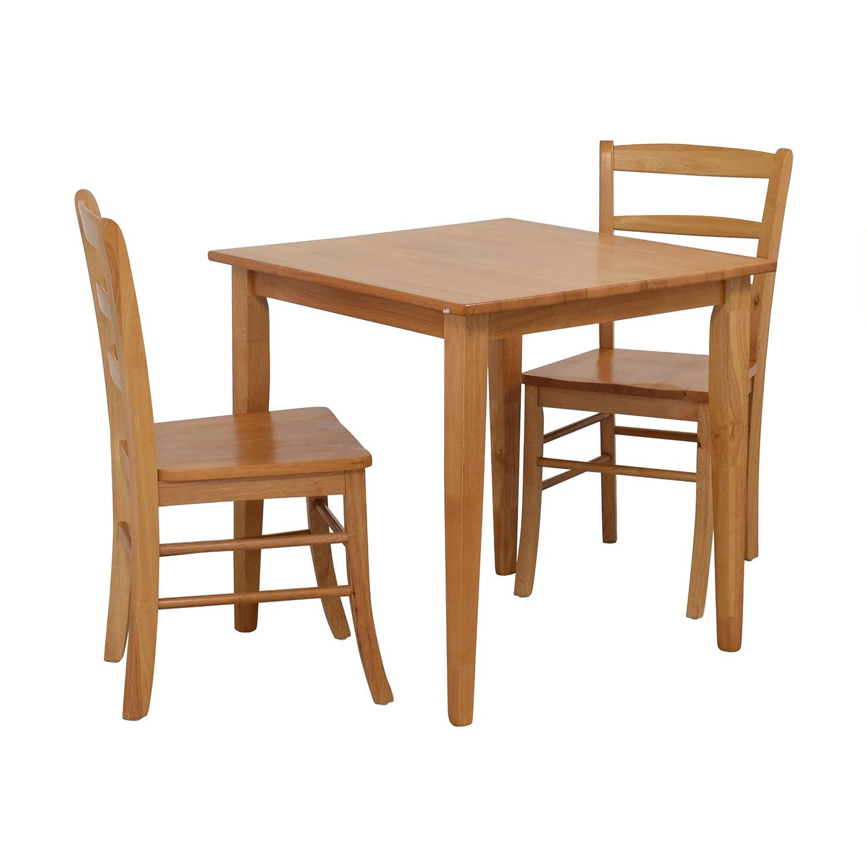 Winsome Winsome Groveland Light Oak Dining Set nj