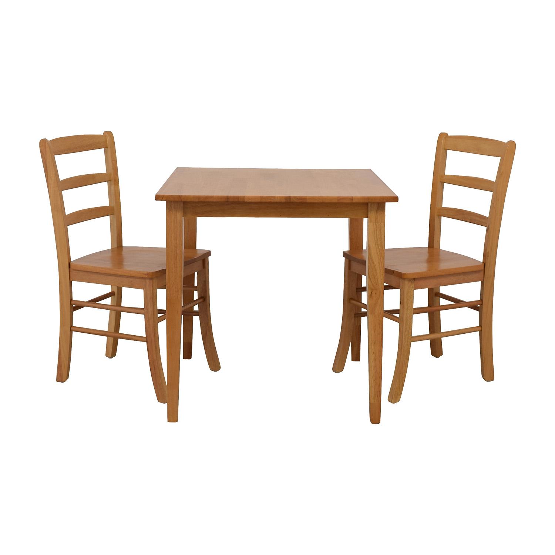 Winsome Winsome Groveland Light Oak Dining Set Beige