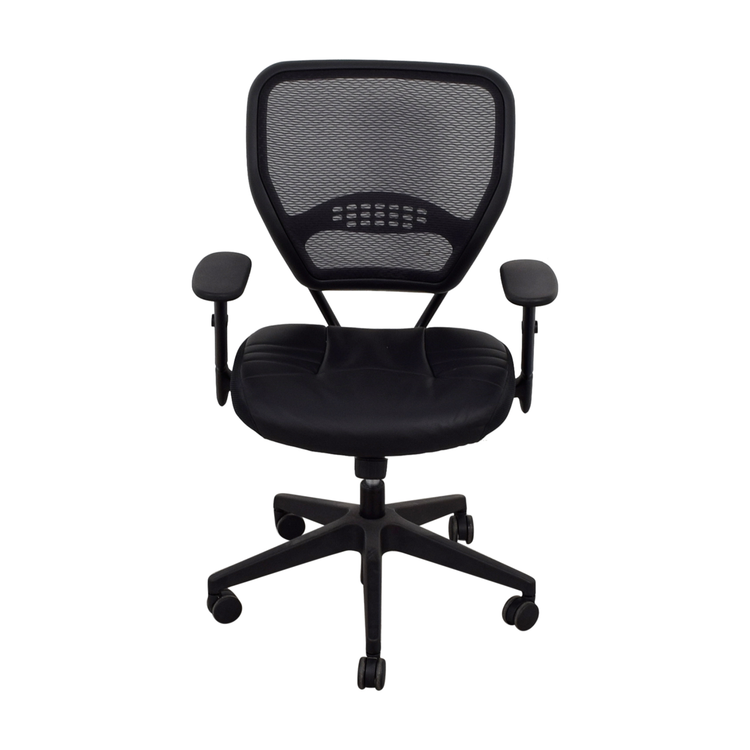 shop Office Star AirGrid Black Office Chair Office Star Chairs