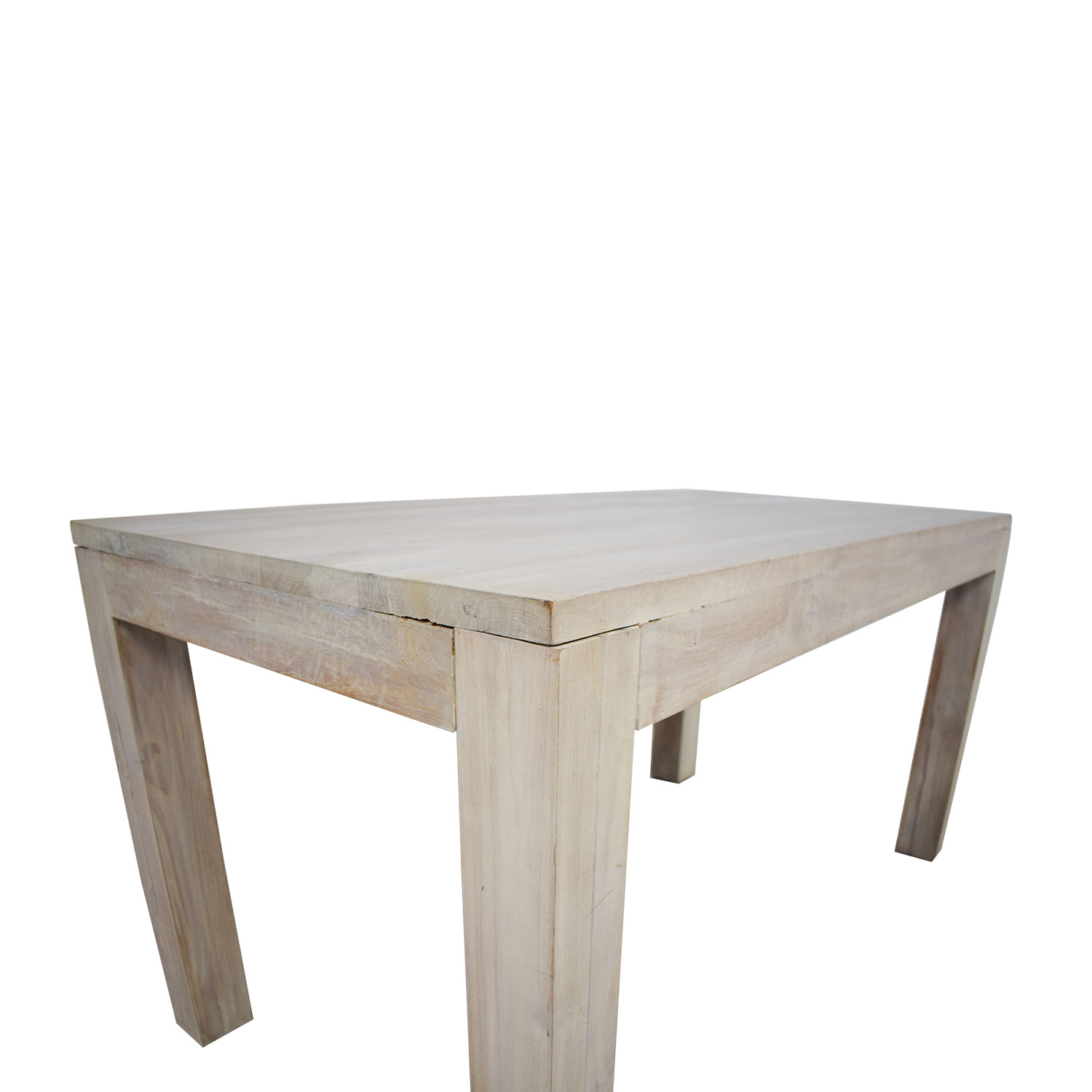 buy TREE Hong Kong TREE Hong Kong Reclaimed Raw Oak Wood Dining Table with Benches online