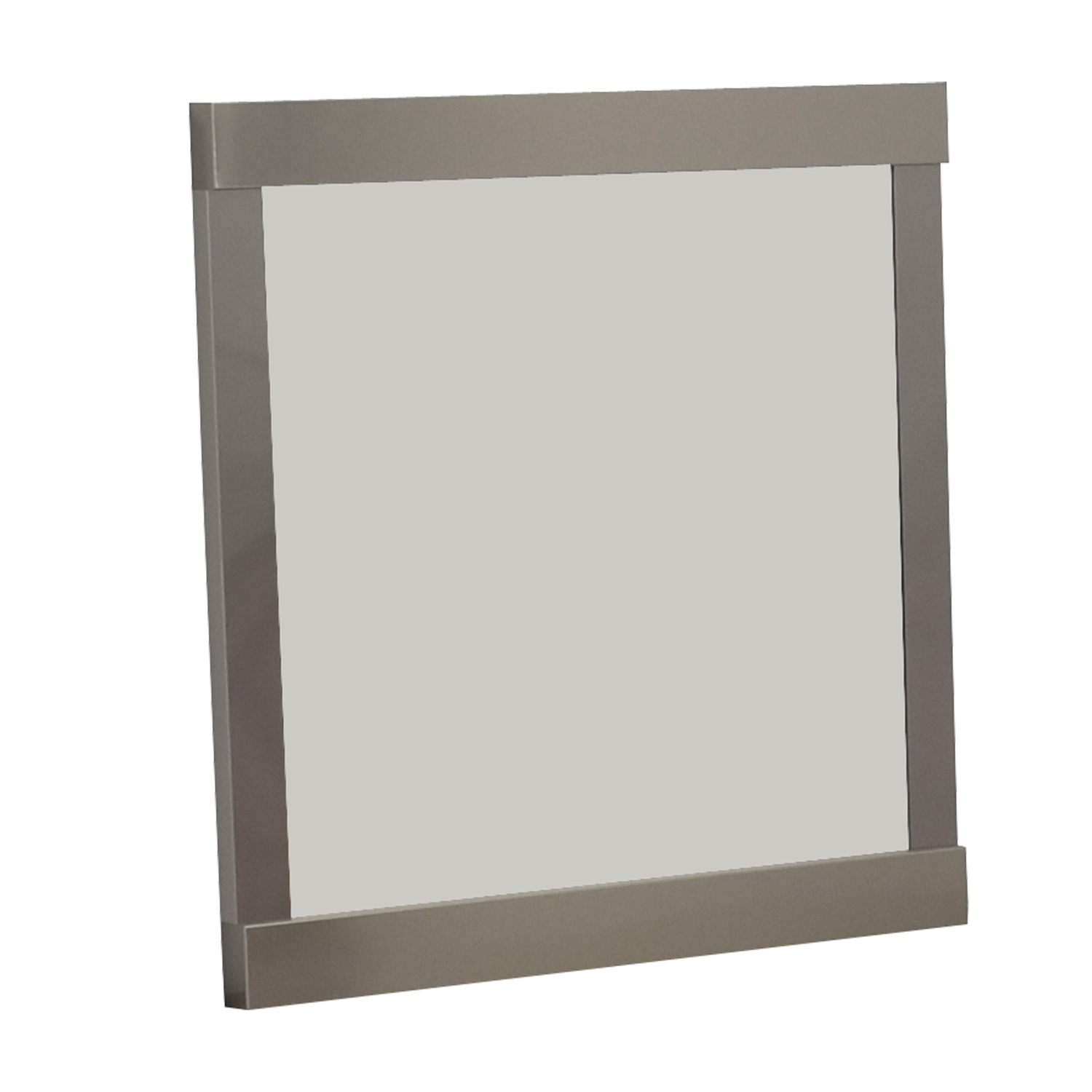 shop Crate & Barrel Crate & Barrel Silver Wall Mirror online