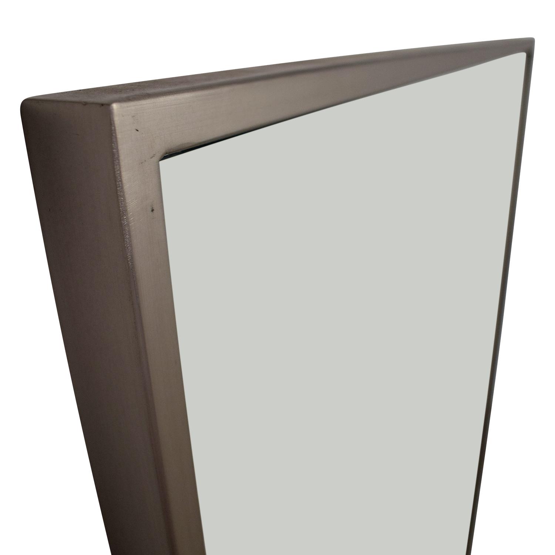 40% OFF - West Elm West Elm Metal Floor Mirror / Decor