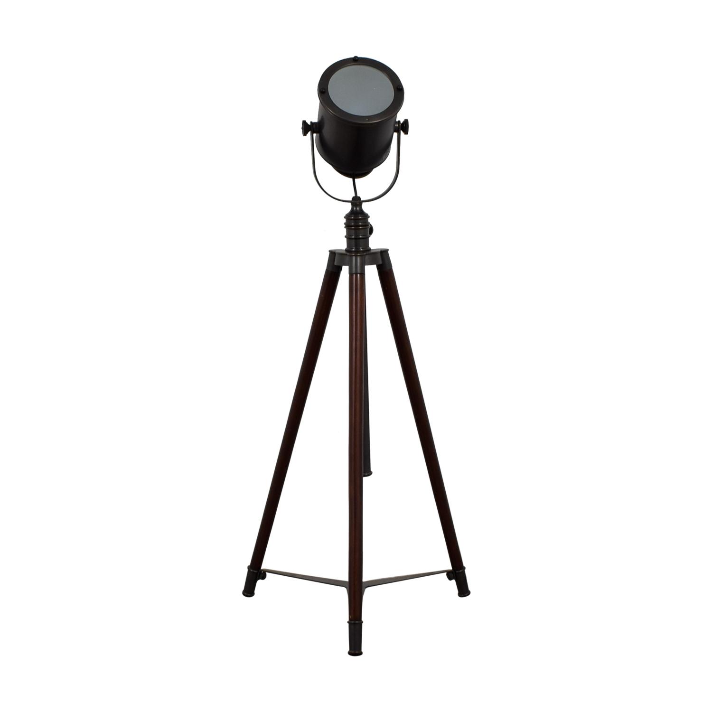 buy Pottery Barn Spotlight Tripod Floor Lamp Pottery Barn
