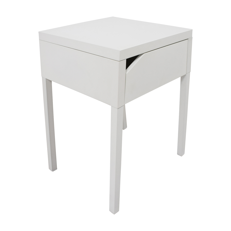 64 Off Ikea Ikea White Nightstand Tables