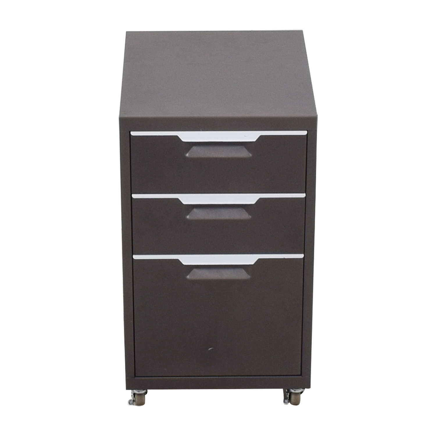 buy CB2 Metal File Cabinet CB2