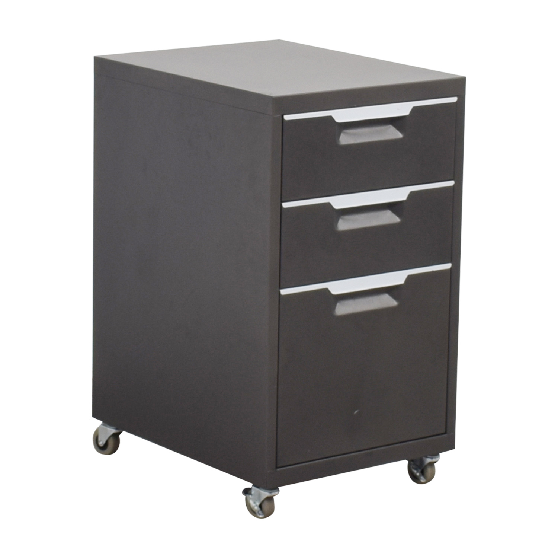 CB2 CB2 Metal File Cabinet discount